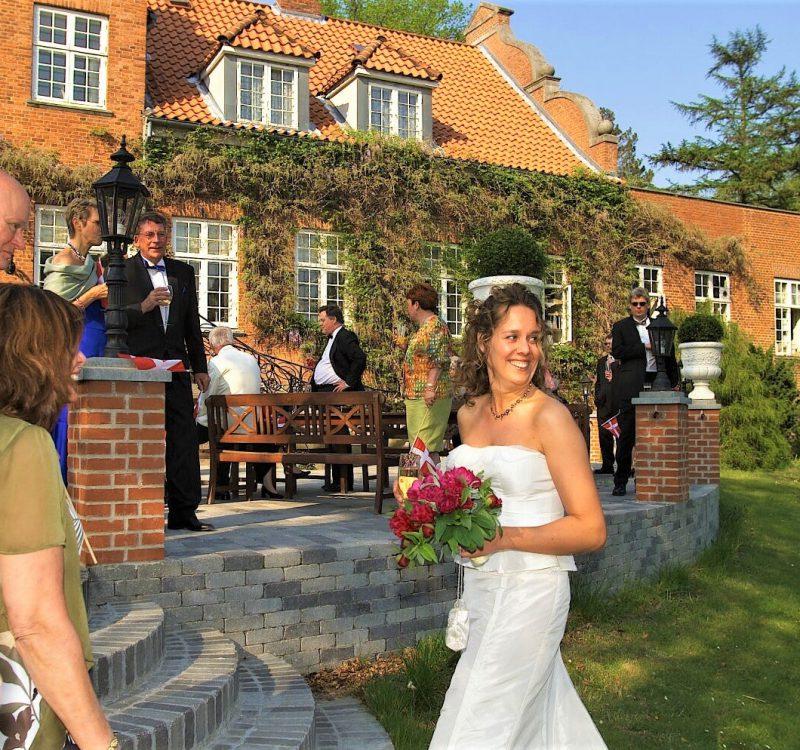 Sauntehus Slotshotel Bryllup